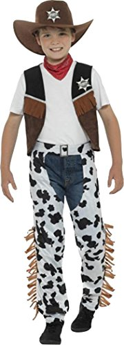 Boys-Fancy-Dress-Party-Book-Week-Wild-West-Western-Texan-Cowboy-Costume-Outfit-0