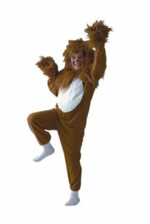 Child-ECONOMY-Lion-Costume-socks-and-face-paint-not-included-0