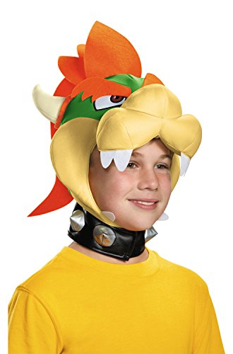 Disguise Bowser Child Headpiece-