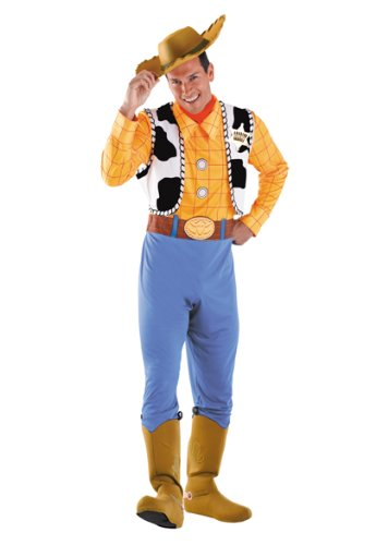 Disguise Toy Story Men's Woody Deluxe Adult