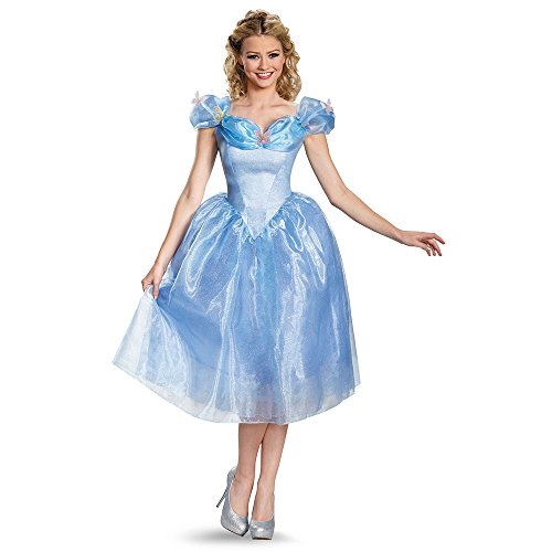 Disguise Women's Cinderella Movie Adult Deluxe Costume