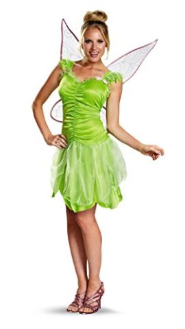 Disguise-Womens-Disney-Fairies-Tinker-Bell-Classic-Costume-0