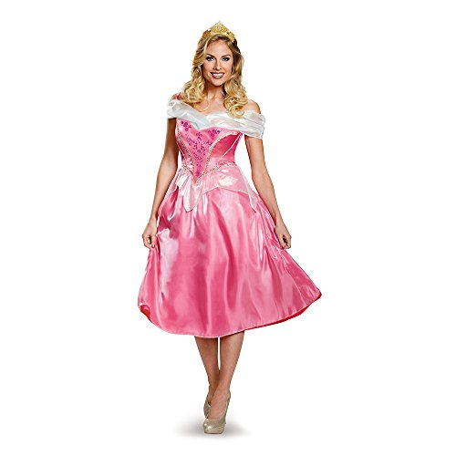 Disguise Women's Princess Aurora Deluxe Costume
