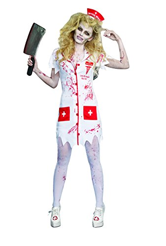 Dreamgirl Women's Working The Graveyard Shift Zombie Nurse Costume