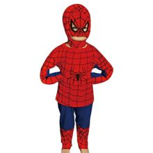 Dressy-Daisy-Boys-Halloween-Spiderman-Superhero-Muscle-Fancy-Party-Costume-Set-0