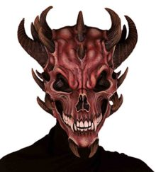 Forum-Novelties-Mens-Devil-Skull-Latex-Mask-0