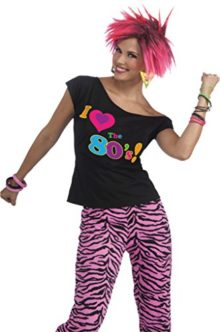 Forum-Novelties-Womens-Retro-80S-Shirt-Theme-Party-Fancy-Halloween-Costume-0