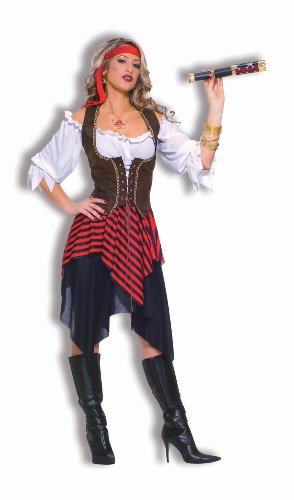 Forum Novelties Women's Sweet Buccaneer Pirate Costume