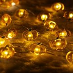 Halloween-String-LightsER-CHENTM-40-LED-Pumpkin10Ft-Long-Battery-Operated-Silver-Wire-String-Lights-with-RemoteTimer-for-IndoorCovered-OutdoorHalloween-Parties-Home-Decorations-0-3