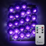 Halloween-String-LightsER-CHENTM-40-LED-Spider10Ft-Long-Purple-Lighting-Battery-Operated-Silver-Wire-String-Lights-with-RemoteTimer-for-IndoorCovered-OutdoorHalloween-Parties-Home-Decorations-0