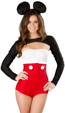J-Valentine-Womens-Mouse-Romper-Shrug-and-Headband-with-Ears-0