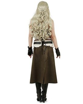 Miccostumes-Womens-A-Song-of-Ice-And-Fire-Daenerys-Targaryen-Brown-Cosplay-Cosutme-0-0