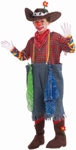 Rodeo Clown Complete Costume, Child's Small