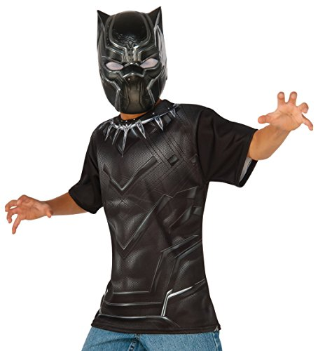 Rubie's Costume Captain America: Civil War Black Panther Child Top and Mask