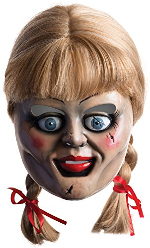 Rubie's Costume Co Annabelle Horror Mask with Wig
