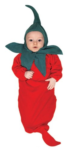 Rubie's Costume Co Baby Boy's Red Hot Chili Pepper Bunting Infant Costume