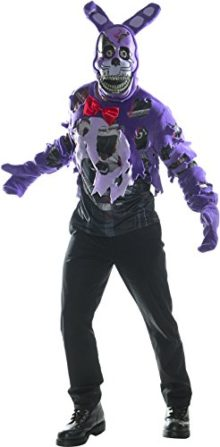 Rubies-Costume-Co-Mens-Five-Nights-At-Freddys-Deluxe-Nightmare-Bonnie-Costume-0