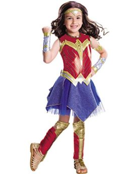 Rubies-Costume-Girls-Justice-League-Deluxe-Wonder-Costume-0