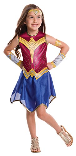 Rubie's Costume Girls Justice League Wonder Costume