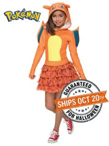 Rubies-Costume-Pokemon-Charizard-Child-Hooded-Costume-Dress-Costume-0