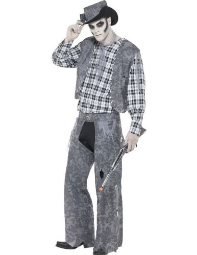 Smiffys Men's Ghost Town Cowboy Costume