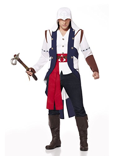 Spirit Halloween Adult Connor Costume – Assassin's Creed