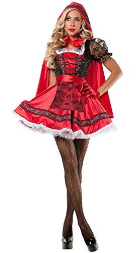 Sweet Little Red Costume, Sexy Red Ridding Hood Costume