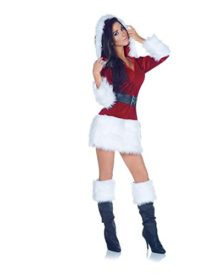 Underwraps-Costumes-Womens-Sexy-Christmas-Costume-All-Wrapped-Up-0