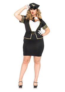 4-PC-Leg-Avenue-Ladies-Mile-High-Pilot-Dress-0