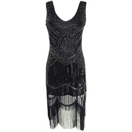 AIDEAR-Womens-1920s-Style-Inspired-Charleston-Sequin-Layer-Tassel-Cocktail-Flapper-Dress-0-0