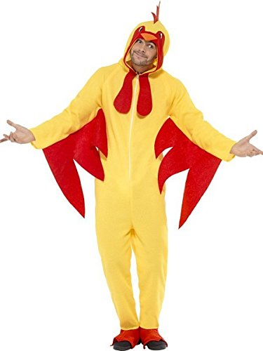 Adult All In One Chicken Party/Stag/Festival Fancy Dress Costume