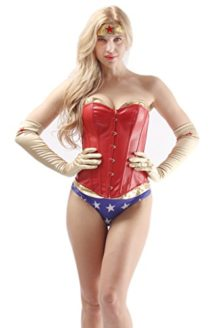 AlivilaY-Fashion-Womens-Sexy-Halloween-Cosplay-Corset-Costume-With-Shorts-0