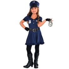 Amscan-Cutie-Cops-and-Robbers-Party-Policewoman-Costume-7-Piece-0