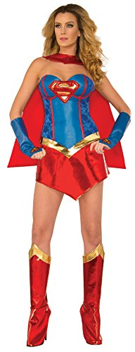 DC-Comics-Deluxe-Supergirl-Costume-With-Boot-Covers-0
