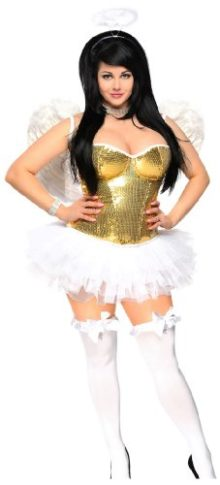 Daisy-Corsets-Womens-4-Piece-Sexy-Sequin-Angel-Costume-0