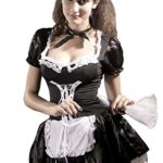 DarlingLove-Womens-Cosplay-Maidservant-Apron-Maid-Outfits-Nightdress-Costume-0