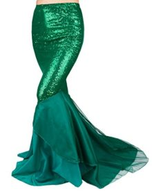 FEESHOW-Womens-Mermaid-Tail-Halloween-Costumes-Party-Shiny-Sequins-Long-Skirt-0