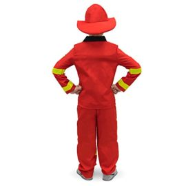 Flamin-Firefighter-Childrens-Halloween-Dress-Up-Theme-Party-Roleplay-Costume-0-0
