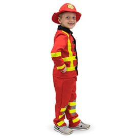 Flamin-Firefighter-Childrens-Halloween-Dress-Up-Theme-Party-Roleplay-Costume-0-1