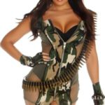 Forplay-Costumes-Charming-Camo-Dress-Gloves-Shorts-0