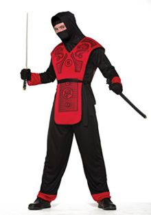 Forum-Mens-Fire-Dragon-Hooded-Ninja-Costume-0