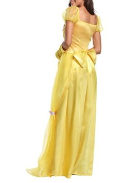 JANES-CUTLE-Womens-Fairytale-Princess-Dress-Halloween-Party-Cosplay-Costume-Yellow-Maxi-Dress-0-2