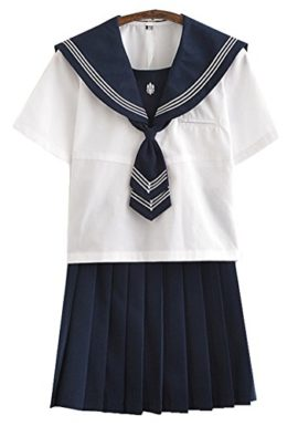 Japanese-School-Uniform-Adult-Women-Halloween-Sailor-Cosplay-Costume-Outfit-Student-Use-0-12