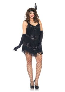 Leg-Avenue-Womens-2-Piece-Roaring-20s-Honey-Fringe-Dress-with-Headband-0