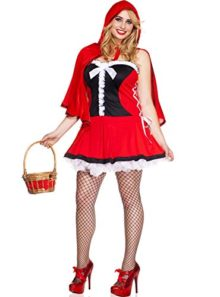 MUSIC-LEGS-Womens-Plus-Size-Red-Hot-Riding-Hood-Plus-Size-0