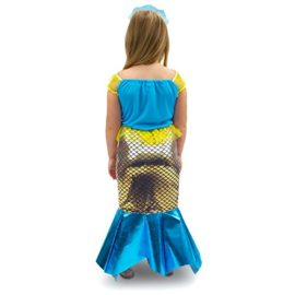 Magnificent-Little-Mermaid-Girls-Halloween-Costume-Dress-Up-Party-Cosplay-0-0
