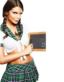 Olens-SEXY-Naughty-School-Girl-Fancy-Dress-Costume-Outfit-Secretary-0