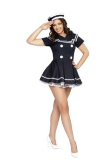 Roma-Costume-2-Piece-Pin-Up-Captain-Costume-0