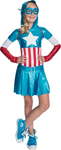 Rubies-Marvel-Classic-Childs-American-Dream-Hoodie-Costume-Dress-0