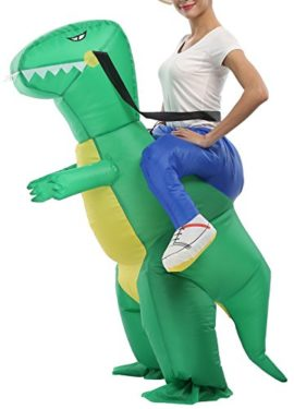 SASALO-Adult-Kids-Inflatable-Costume-Funny-Animal-Riding-Halloween-Blow-up-Suit-0-0